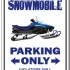 snowmobile trailer parking